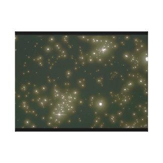 星。 (星; 宇宙; ライト; _Space場面 キャンバスプリント