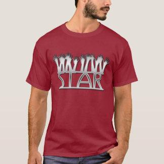 星-銀製パターン- Tシャツ