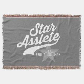 星Asslete (熱心なIndoorsman) スローブランケット