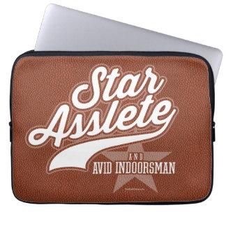 星Asslete (熱心なIndoorsman) ラップトップスリーブ