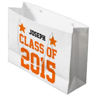 星S14Pを持つ新しい卒業生の2015年または年のクラス ラージペーパーバッグ