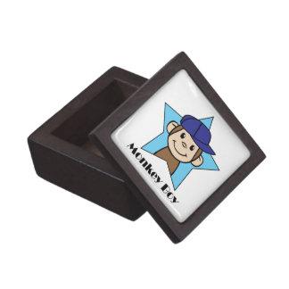 星wの帽子のかわいい漫画の切り貼り芸術幸せな猿 ギフトボックス