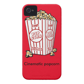 映画のポップコーン Case-Mate iPhone 4 ケース
