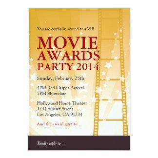映画はパーティの招待状を与えます カード