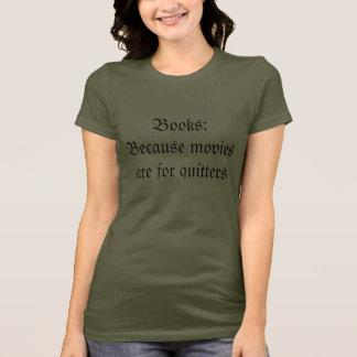 映画は憶病者のためです Tシャツ