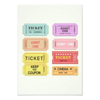 映画チケット カード