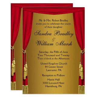 映画テーマの結婚式招待状 カード