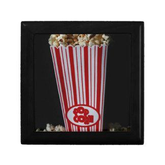 映画夜およびポップコーン ギフトボックス