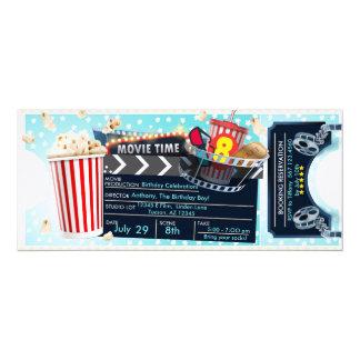 映画夜招待状 カード