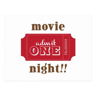 映画夜!! ポストカード