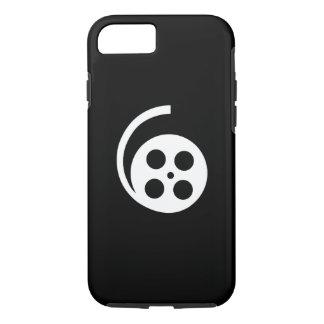 映画巻き枠のピクトグラムのiPhone 7の場合 iPhone 8/7ケース