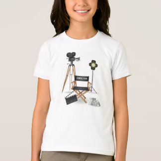 映画監督一定の女の子のTシャツ Tシャツ
