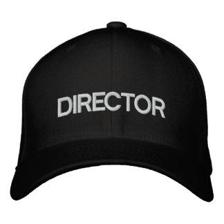 映画監督帽子 刺繍入りキャップ