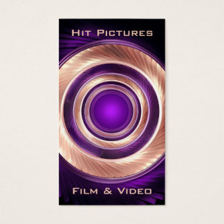 映画製作者のカメラマンのビデオグラファーのあたりの上昇 名刺