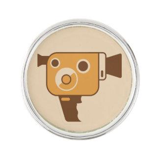 映画製作者の映画用カメラ ラペルピン