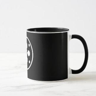 映画館ロール黒のマグ11.oz マグカップ