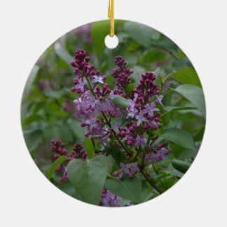 春かイースター: Japonicaか薄紫 セラミックオーナメント