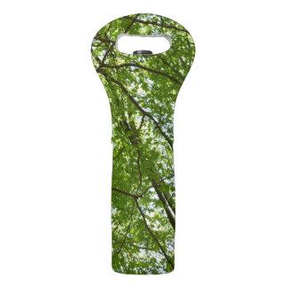 春のおおいは緑の自然場面を去ります ワイントート
