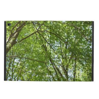 春のおおいは緑の自然場面を去ります POWIS iPad AIR 2 ケース