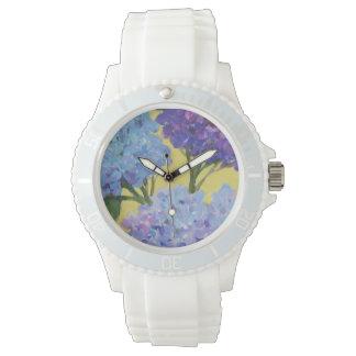 春のアジサイI 腕時計