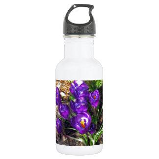 春のクロッカス ウォーターボトル