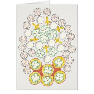 春のシンボルや象徴 カード