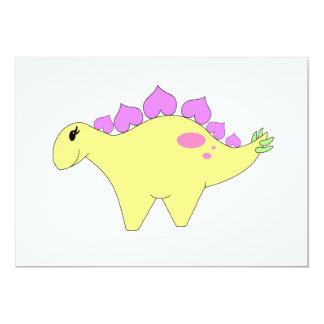 春のステゴサウルス カード