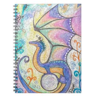 春のドラゴン ノートブック