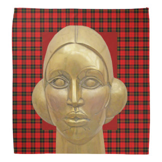 春のバンダナのスコットランドの独立女神 バンダナ