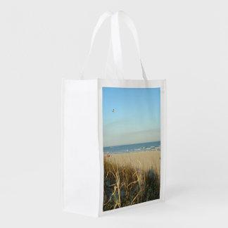 春のビーチ場面第3 エコバッグ