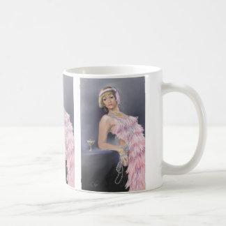 春のフラッパーのマグ コーヒーマグカップ