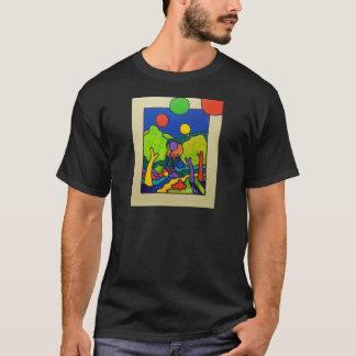 春のブランデーグラス Tシャツ