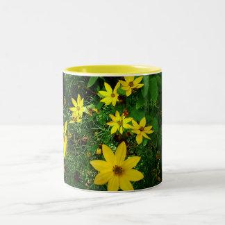 春のマグのしぶき ツートーンマグカップ