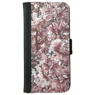 春のマグノリアのウォレットケース iPhone 6/6S ウォレットケース