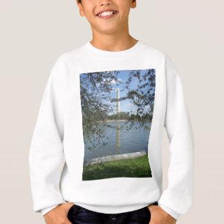 春のワシントン記念塔 スウェットシャツ