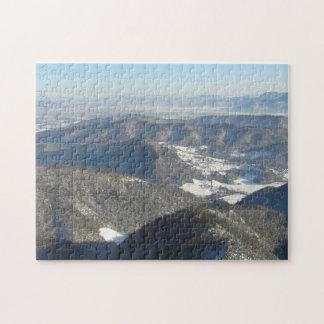 春の前の山の平面図 ジグソーパズル