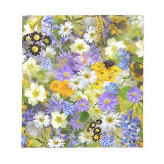 春の喜び ノートパッド