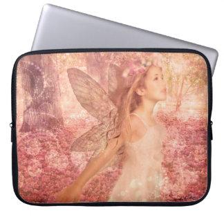 「春の妖精」のラップトップスリーブ ラップトップスリーブ