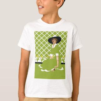 春の庭師 Tシャツ