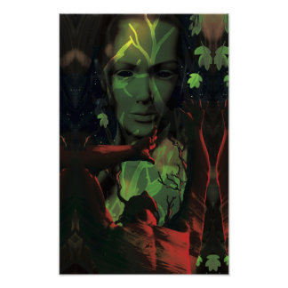 春の憤りのプリント ポスター