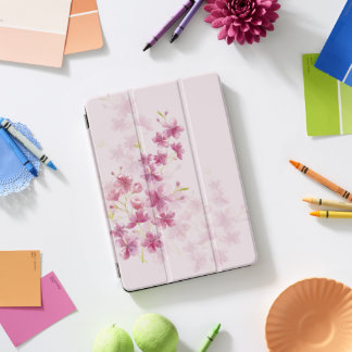 春の桜の花の水彩画のスタイル iPad PROカバー