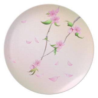 春の桜 プレート