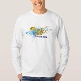 春の水球-長袖T Tシャツ