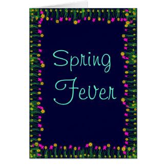 春の熱 グリーティングカード
