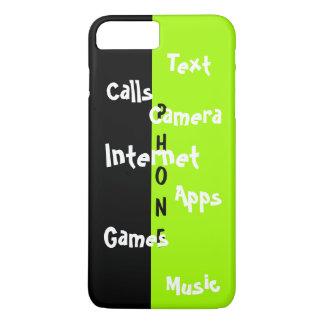 春の粋なiPhoneの場合のライムのColorblockのおもしろい31 iPhone 8 Plus/7 Plusケース