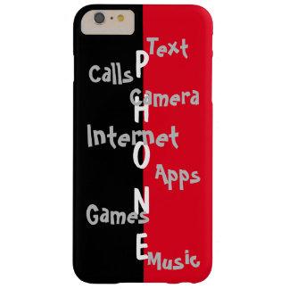 春の粋なiPhoneの場合のライムのColorblockのおもしろい32 Barely There iPhone 6 Plus ケース