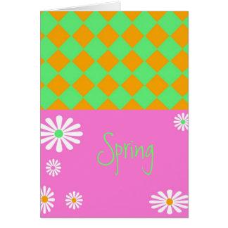 春の組合せ カード