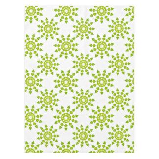 """春の緑の綿のテーブルクロス、52"""" x70 """" テーブルクロス"""