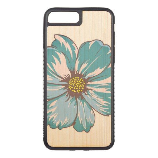 春の花のイラストレーション CARVED iPhone 7 PLUS ケース