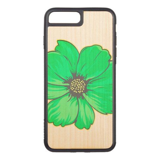 春の花のイラストレーション CARVED iPhone 8 PLUS/7 PLUS ケース